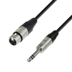 K4BFV 4 Star REAN XLR female naar 6.3 mm Jack microfoon kabel 0,3 tot 10 meter