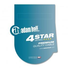 K4BFV 4 Star REAN XLR female naar 6.3 mm Jack microfoon kabel 0,3 tot 10 meter verpakking