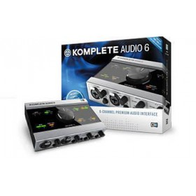 Native Instruments Komplete Audio 6 Geluidskaart + Software voor o.a. opname