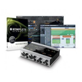 Native Instruments Komplete Audio 6 Geluidskaart + Software voor o.a. opname incl software