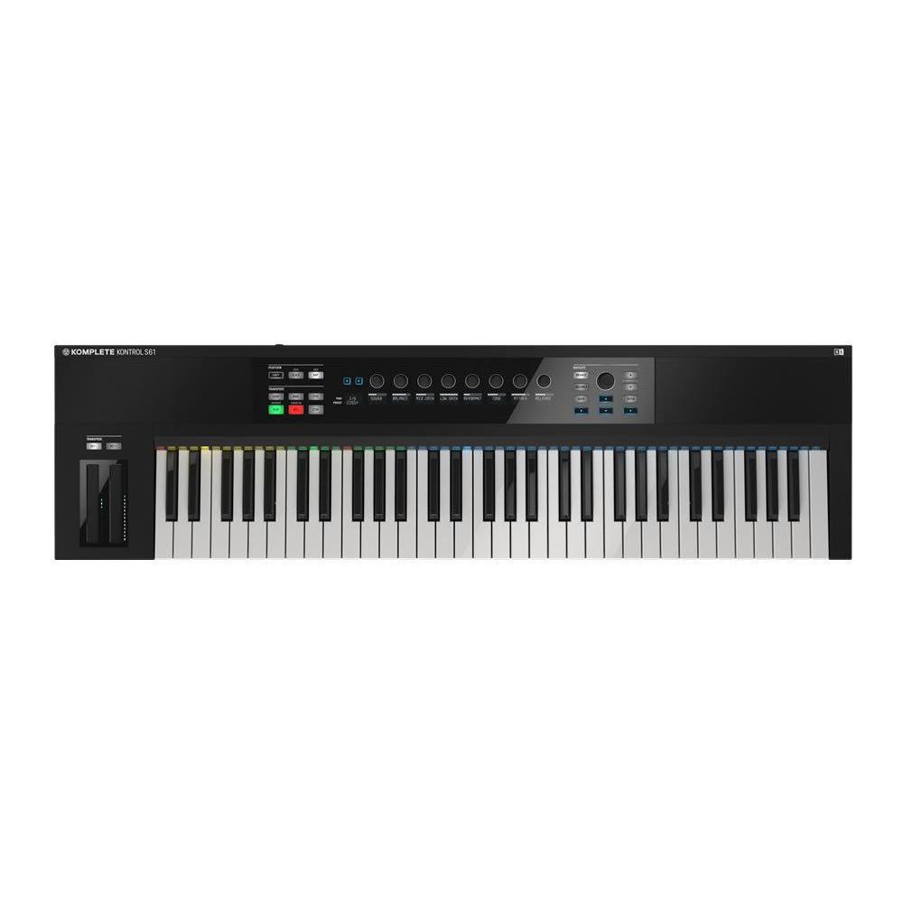 Native Instruments Komplete Kontrol S61mk2 Midi Keyboard - overzicht