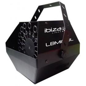 Ibiza Light LBM10BAT-BL - Draagbare oplaadbare accu bellenblaasmachine
