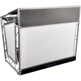 LiteConsole XPRS V2 Stevige aluminium DJ booth voor on the road