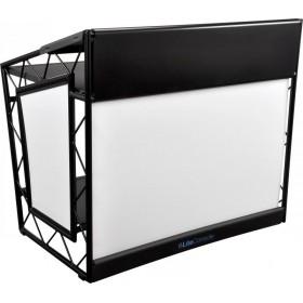 LiteConsole XPRS V2 Stevige zwarte DJ booth voor on the road