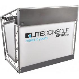 LiteConsole XPRSlite V2 Stevige lichte DJ booth voor on the road