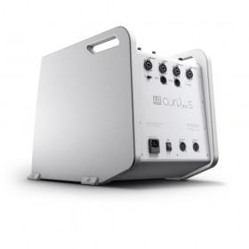 LD Systems CURV 500 AVSW Portable A/V Array Systeem - achterkant subwoofer aansluitingen