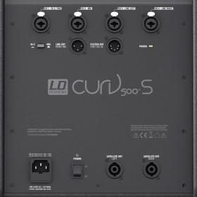 LD Systems Curv 500 ES Bundel aansluiten