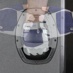 """makkelijk te vervoeren door de handige handgrepen. LD Systems DAVE10 G3 - Compact 10"""" Actief PA Systeem"""