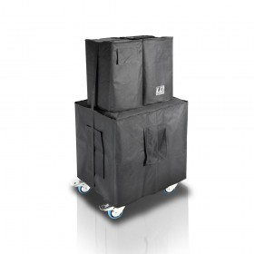 LD Systems DAVE 10 G3 accessoireset - hoezen + rijplaat dave10