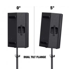 """LD Systems STINGER 15 A G3 Actieve 15"""" PA Speaker LDEB152AG3 - pole mound 0 graden en 5 graden tilt"""
