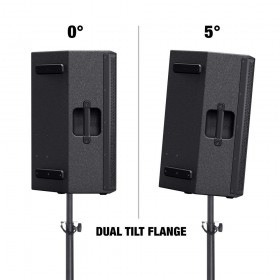 """0 en 5 graden pole mound tilt- LD Systems STINGER 15 G3 Passieve 15"""" PA Speaker"""