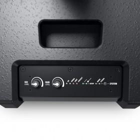 LD Systems MAUI 11 G2 portable kolom PA speaker systeem Zwart - bediening bovenkant