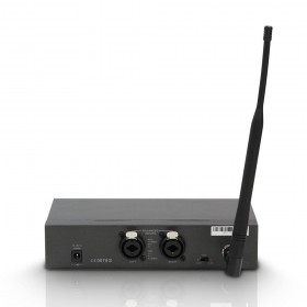 LD Systems MEI 1000 G2 - Draadloos In-Ear Monitoring Systeem achterkant, aansluitingen
