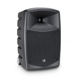 LD Systems Roadbuddy 10 BPH 2 - Bluetooth-speaker op accu, met mixer, 2 bodypacks en 2 headsets voorkant