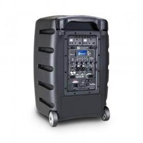 LD Systems Roadbuddy 10 BPH 2 - Bluetooth-speaker op accu, met mixer, 2 bodypacks en 2 headsets achterkant