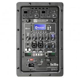 LD Systems Roadbuddy 10 BPH 2 - Bluetooth-speaker op accu, met mixer, 2 bodypacks en 2 headsets bediening en aansluitingen