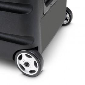 LD Systems Roadbuddy 10 BPH 2 - Bluetooth-speaker op accu, met mixer, 2 bodypacks en 2 headsets wielen