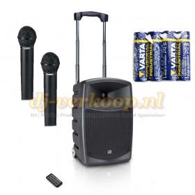 LD Systems Roadbuddy 10 set met twee microfoons + gratis batterijen hoofdafbeelding
