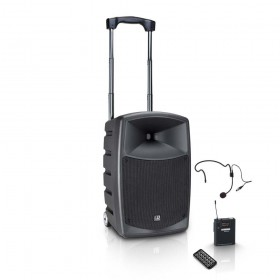 LD Systems Roadbuddy 10 HS - Portable speaker met Headset & Beltpack