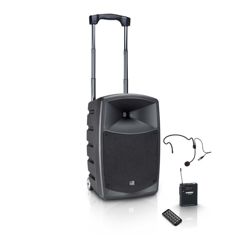 LD Systems Roadbuddy 10 HS - Portable speaker met Headset & Beltpack