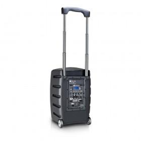LD Systems Roadbuddy 10 HS - Portable speaker met Headset & Beltpack trolley