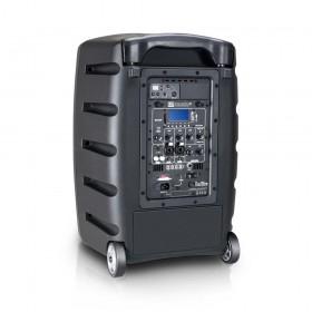 LD Systems Roadbuddy 10 HS - Portable speaker met Headset & Beltpack achterkant