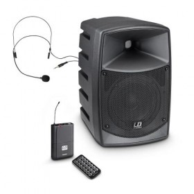 LD Systems ROADBUDDY 6 - Portable speaker met Headset - hoofdafbeelding