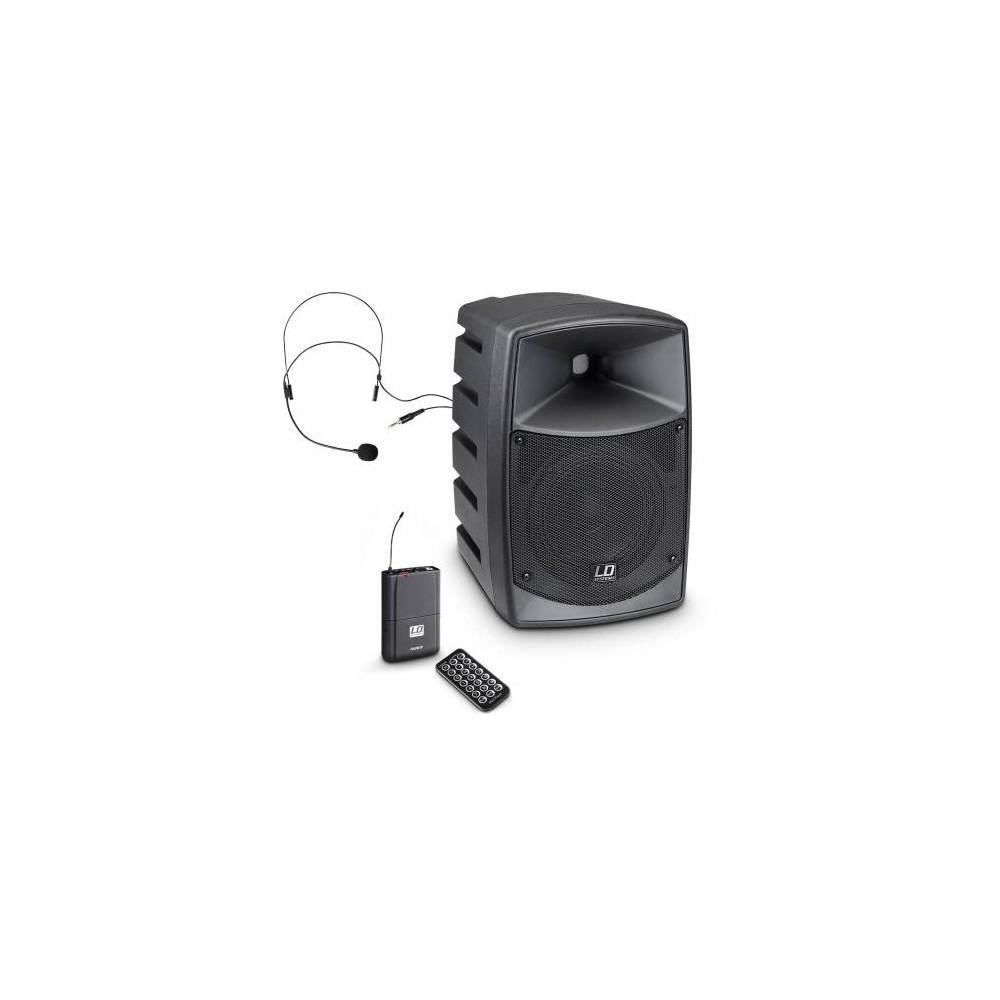 LD Systems ROADBUDDY 6 - Portable speaker met Headset - hoofdafbeelding