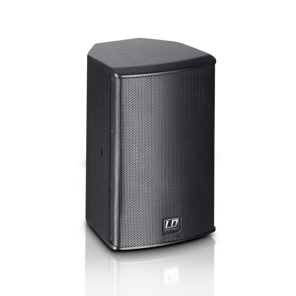 "LD Systems SAT 62 G2 - 6.5"" Passieve installatie monitor zwart (2 stuks)"