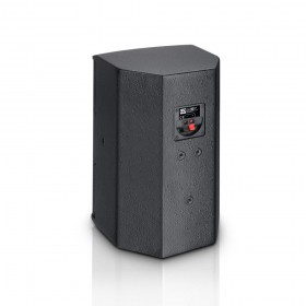 "Achterkant aansluiting LD Systems SAT 62 G2 - 6.5"" Passieve installatie monitor zwart (2 stuks)"