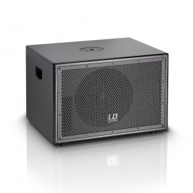 "LD Systems SUB10A - 10"" active PA Subwoofer + Versterker voor tops"