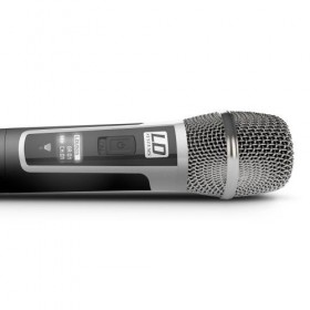 Microfoon kop - LD Systems U500 HHC draaadloos UHF microfoon systeem