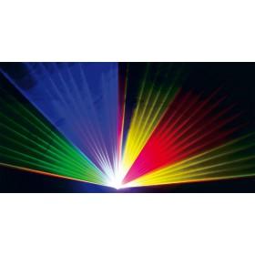 Ibiza Light SCAN1100RGB DMX Bestuurde 1100mW RGB Laser - effect 1