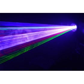 Ibiza Light SCAN1100RGB DMX Bestuurde 1100mW RGB Laser - effect 2