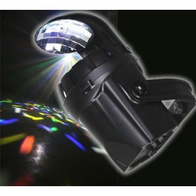 Ibiza Light 2-IN-1 SPOT - 10W LED moon effect met spiegel