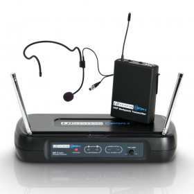 LD Systems WS ECO 2 BPH series Draadloze microfoon met beltpack & headset LDWSECO2BPH set