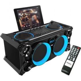 Ibiza Sound SPLBOX200-BK Partyspeaker met Bluetooth incl afstandsbediening
