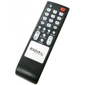 Afstandsbediening Ibiza Sound SPLBOX200-WH Partyspeaker met Bluetooth