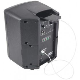 Ibiza Power5-BT Draagbare Actieve 6,5 inch speaker op accu - achterkant