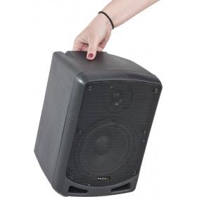 Ibiza Power5-BT Draagbare Actieve 6,5 inch speaker op accu - draagbaar