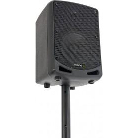 Ibiza Power5-BT Draagbare Actieve 6,5 inch speaker op accu - op statief
