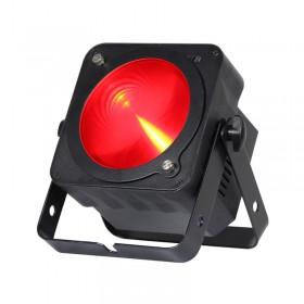 voorkant aan rood LEDJ Slimline 1T36 - COB LED Spot van 36 Watt