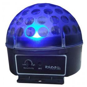Blauw Ibiza Light ASTRO1 RGB LED Bal LICHT EFFECT (Actie!)