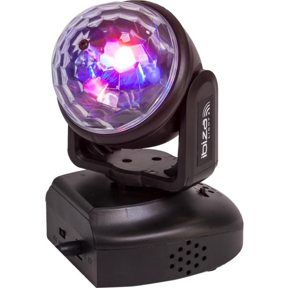 IBIZA Light LMH-ASTRO - RGB LED MOVING HEAD MET ASTRO EFFECT