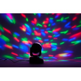IBIZA Light LMH-ASTRO - RGB LED MOVING HEAD MET ASTRO EFFECT