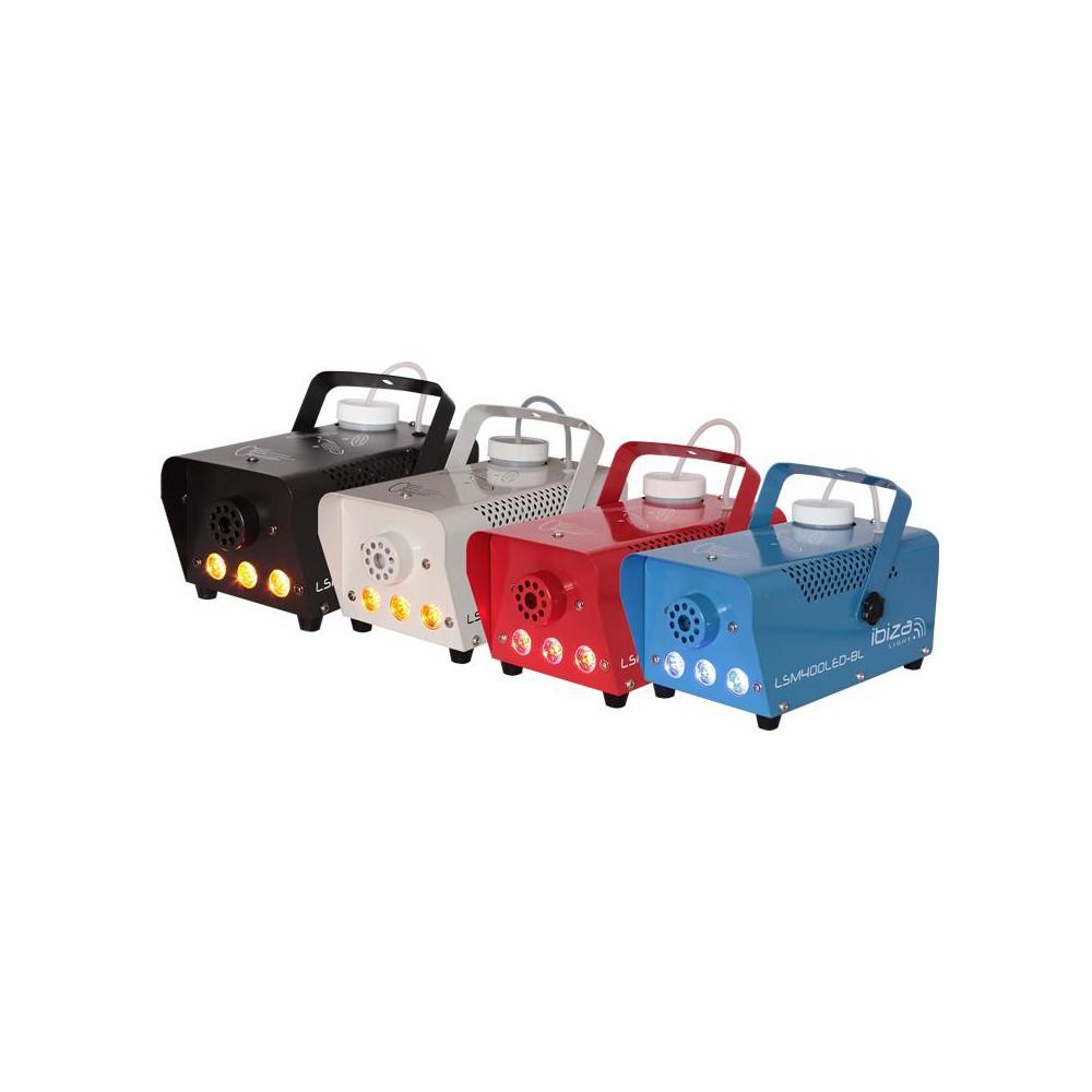 Ibiza Light LSM400 Mini rookmachine 400Watt met LED - overzicht