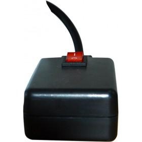 Ibiza Light LSM400 Mini rookmachine 400Watt met LED - afstandsbediening