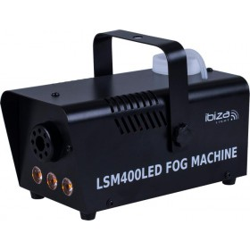 Ibiza Light LSM400 Mini rookmachine 400Watt met LED - Zwart