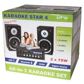 LTC Karaoke-Star4 MKII - All-In-1 Karaoke set - doos