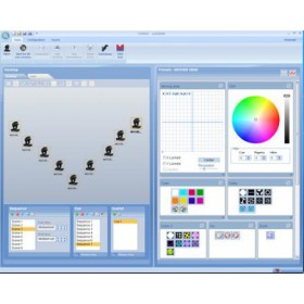 Lumidesk software afbeelding daschbord programering